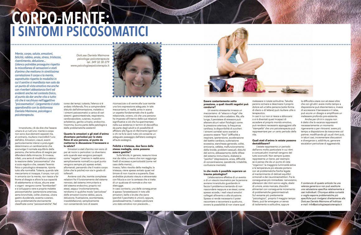 Corpo-Mente: I sintomi somatici